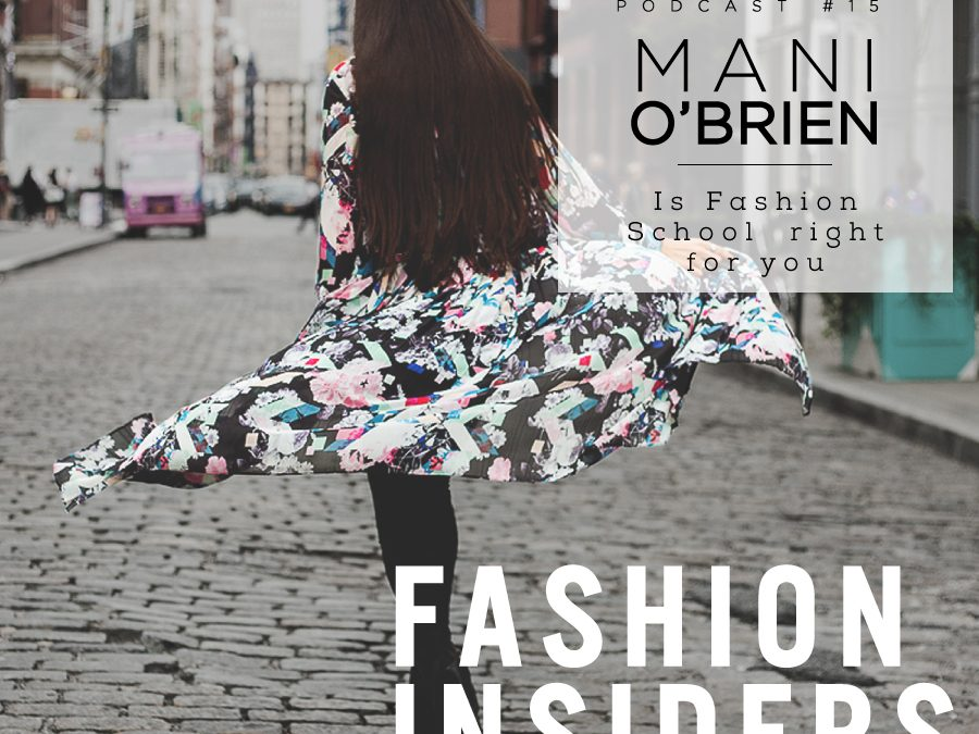 I was a Podcast Guest! Listen to me on Streddo's Fashion Insiders